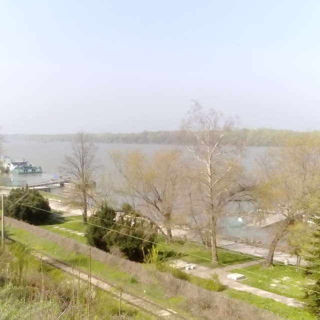 Danube in Ruse,  Bulgaria.