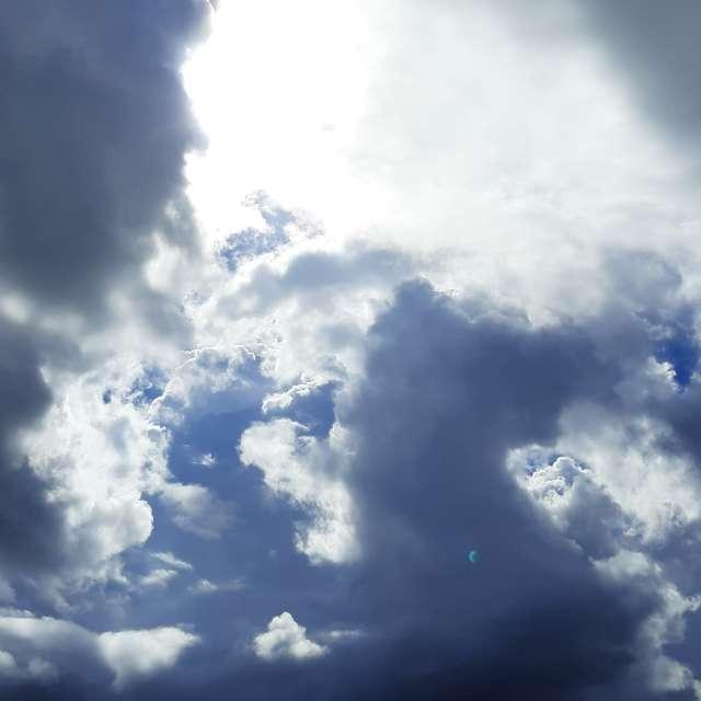烏雲白雲混搭