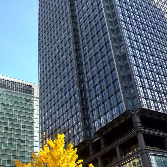 東京駅前高層ビル