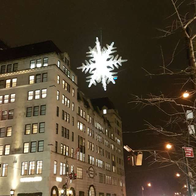 New York, Christmas Eve