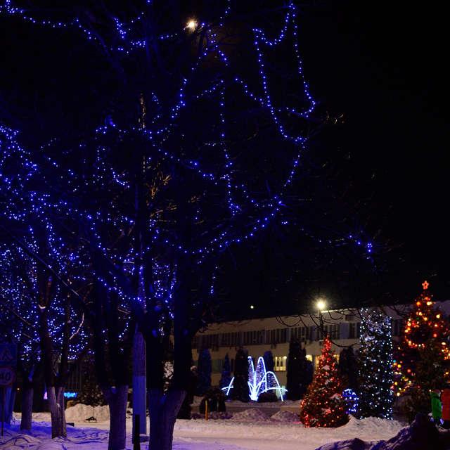 Зима. Новогодние праздники