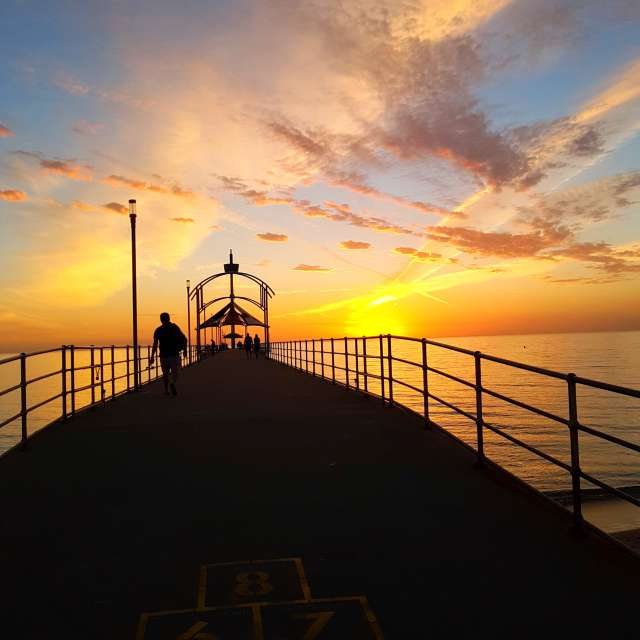 Pier in Adelaide-Australia