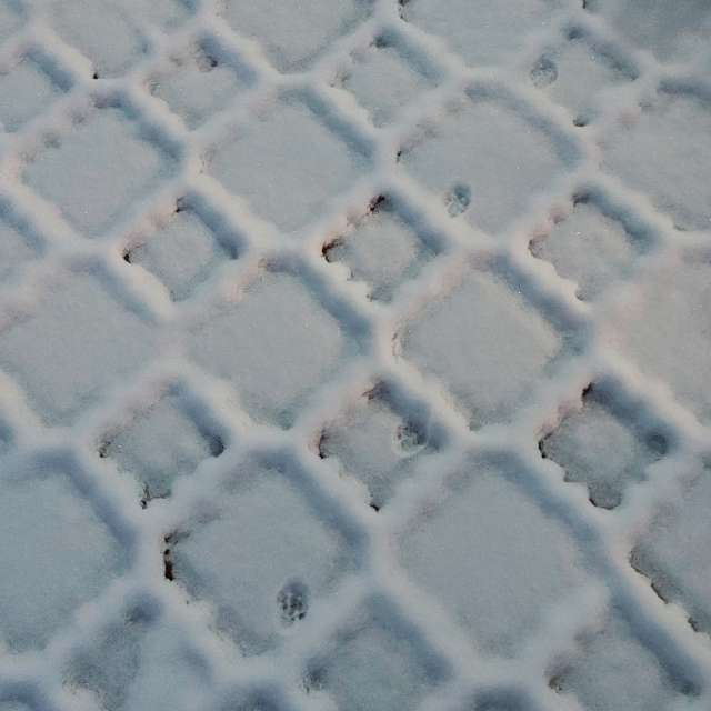 Тротуарная плитка первый снег