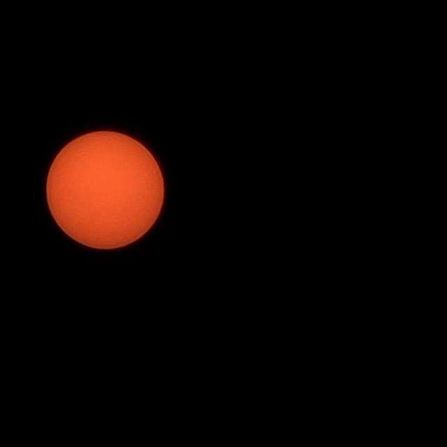 The sun, Oregon fires 2020