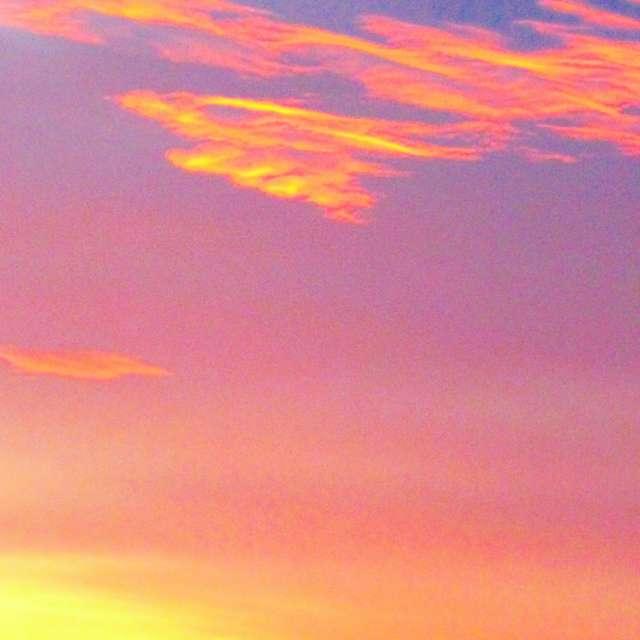 Cool Clouds at Sunrise