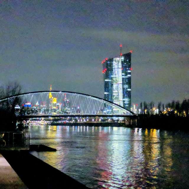 EZB & Skyline Frankfurt/Main