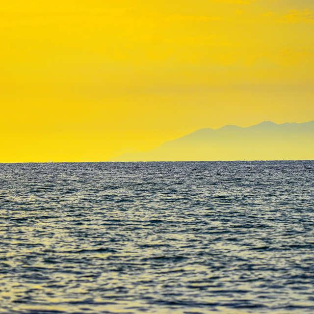 Shoreline viewd from Tuscany