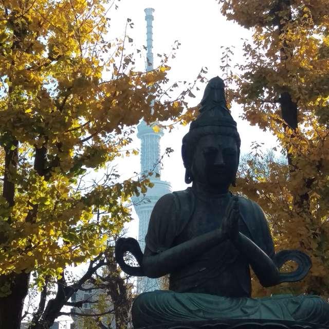 浅草寺の観音様