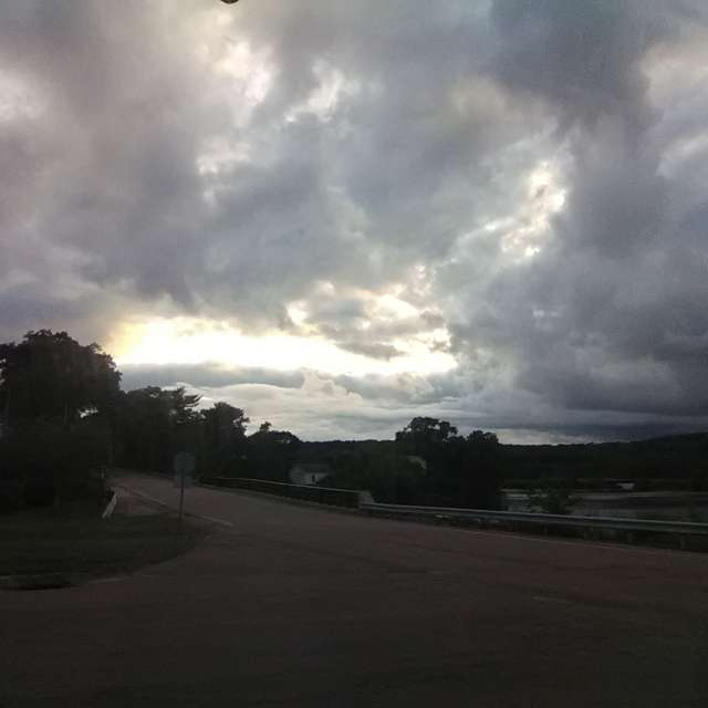 Intense Storm Clouds
