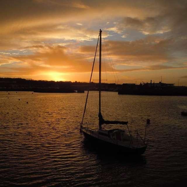 Ireland water sailboat calm