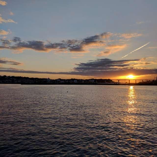 城ヶ島の夜明け