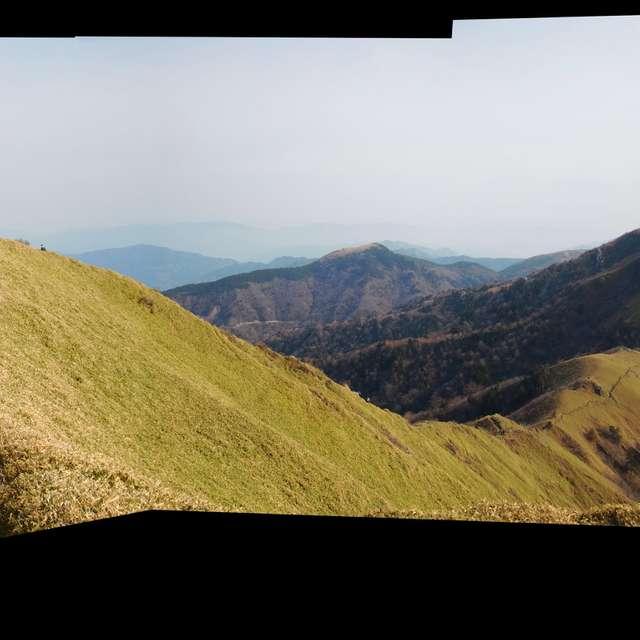 Shikoku JAPAN  Mt.Tsurugisan