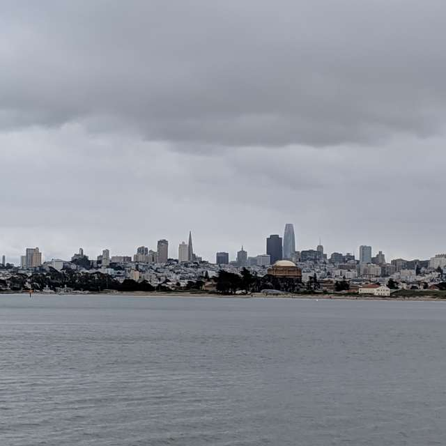 clouds over San Francisco