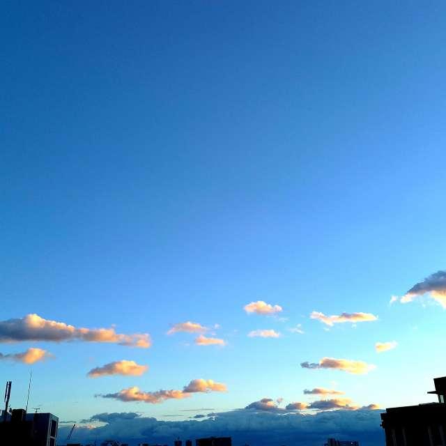 雲がかわいい