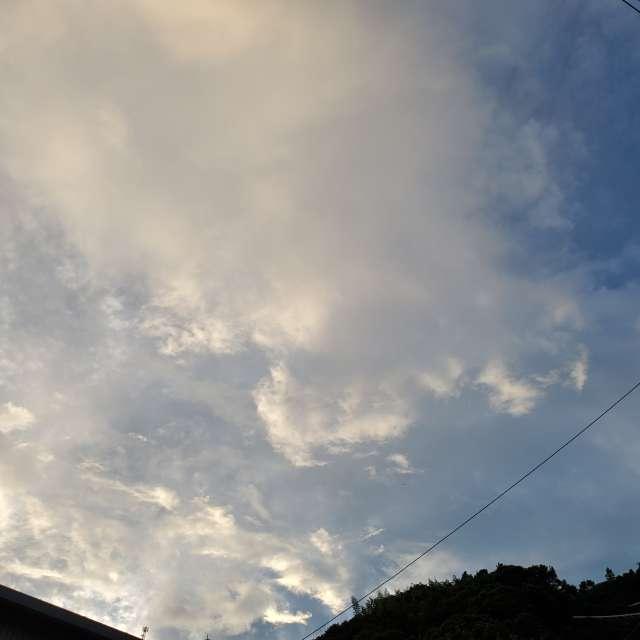 嵐の前の晴れ間