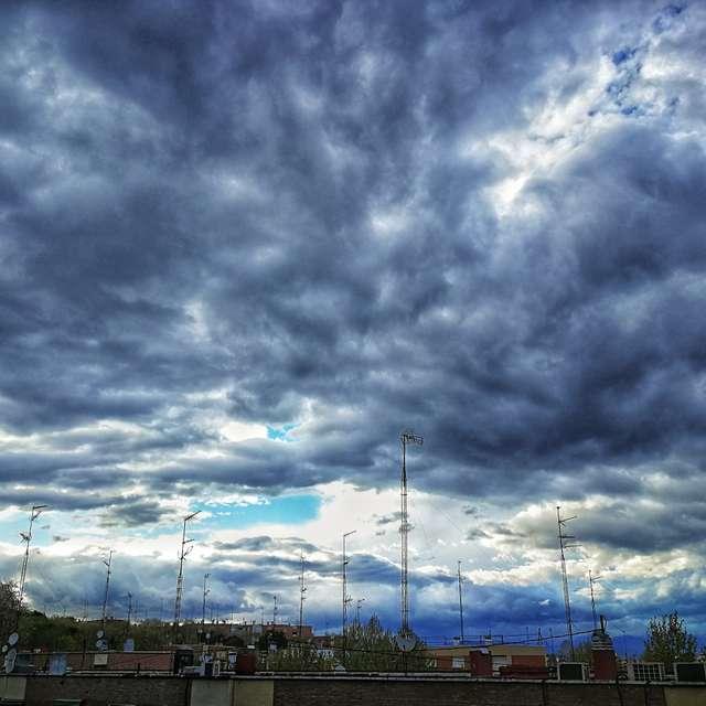 Nubes e Madrid