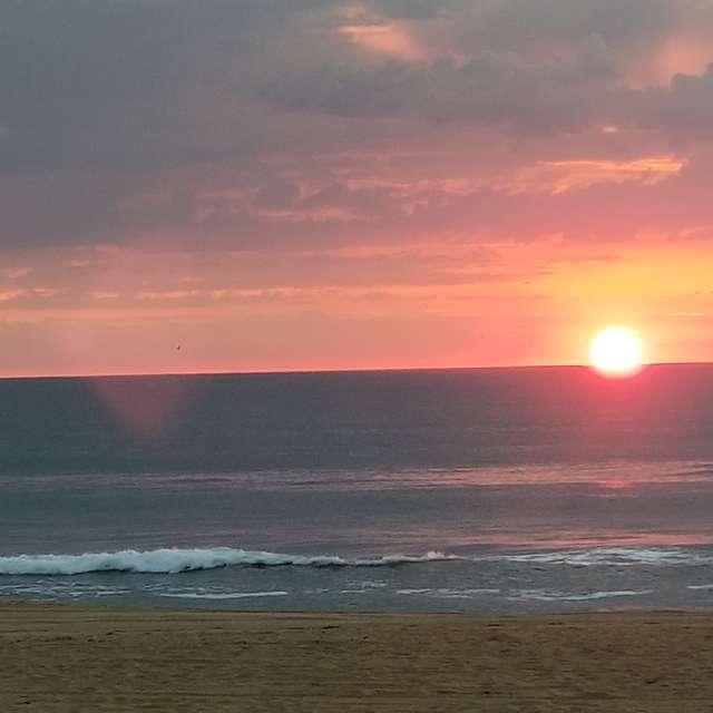 Beautiful Seaside Sunset