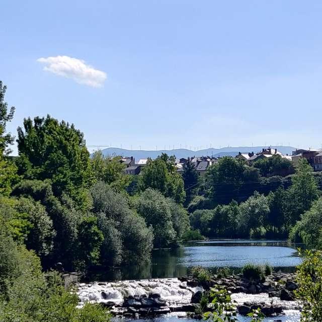 Río Sil unido al río Boeza.