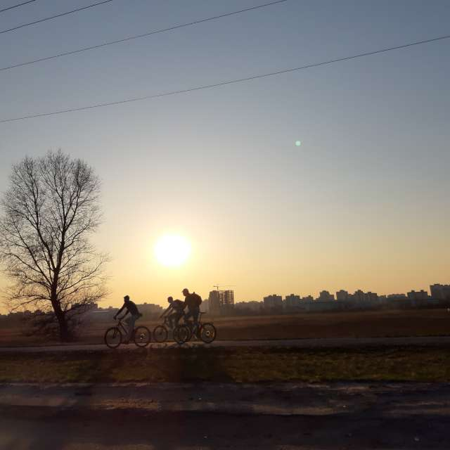 Вечерняя велопрогулка.