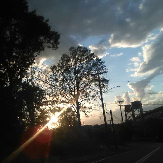 Sunset at Gold Star Bridge