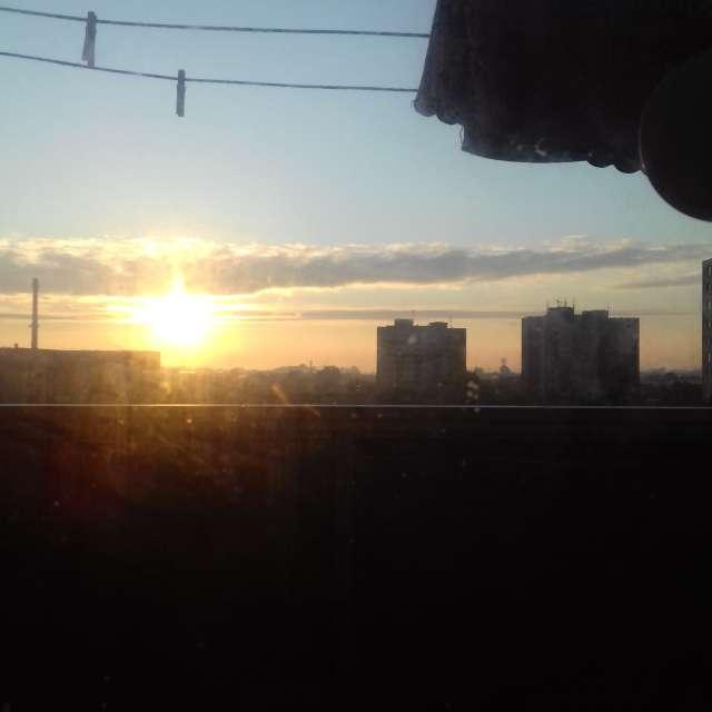 Ráno vedľa Nových Zámkoch