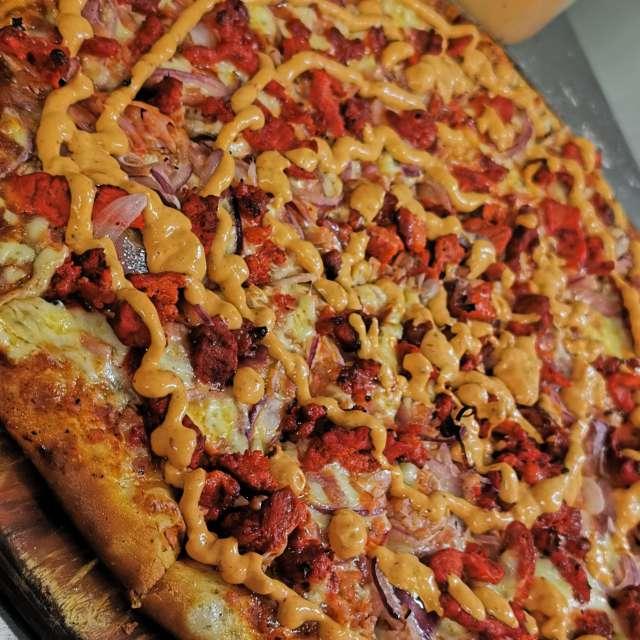 La pizza de pastor Chepys