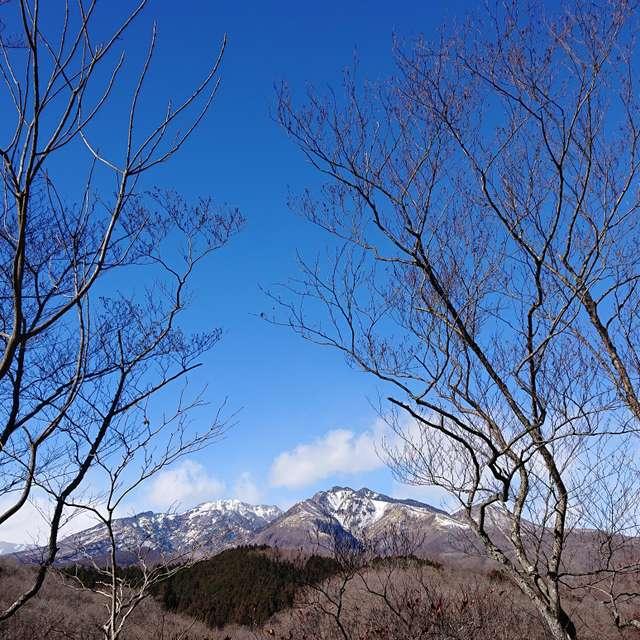 日光連山を望む