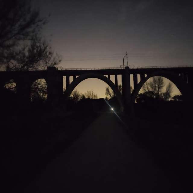 Puente vía férrea El Pardo