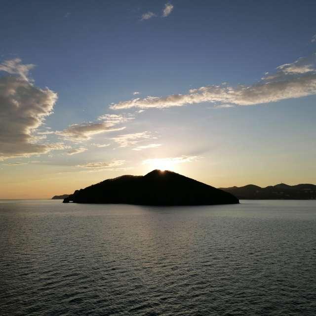Лисий остров Закат