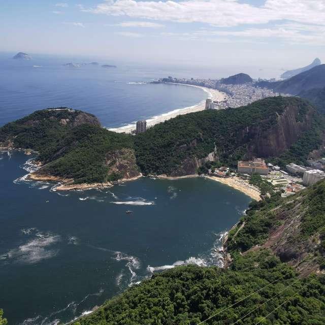View to Copacabana_Brasil