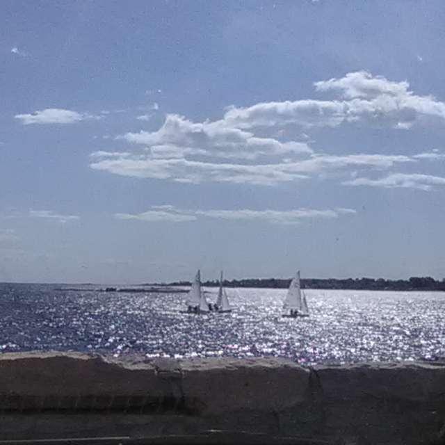 Sailing at Avery Point