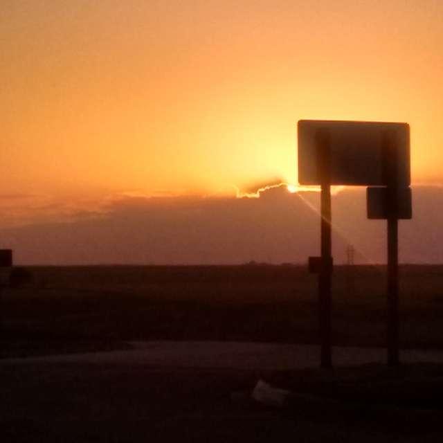 Rest Stop in Kansas