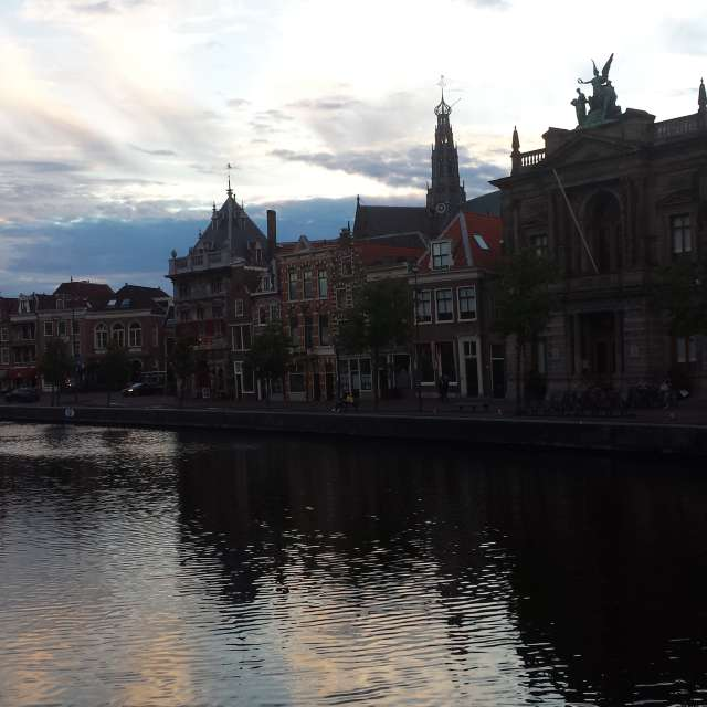 Evening on Spaarne
