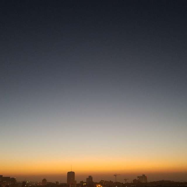 Daybreak in Jerusalem