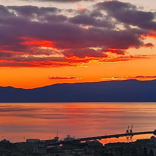 Rijeka sunset