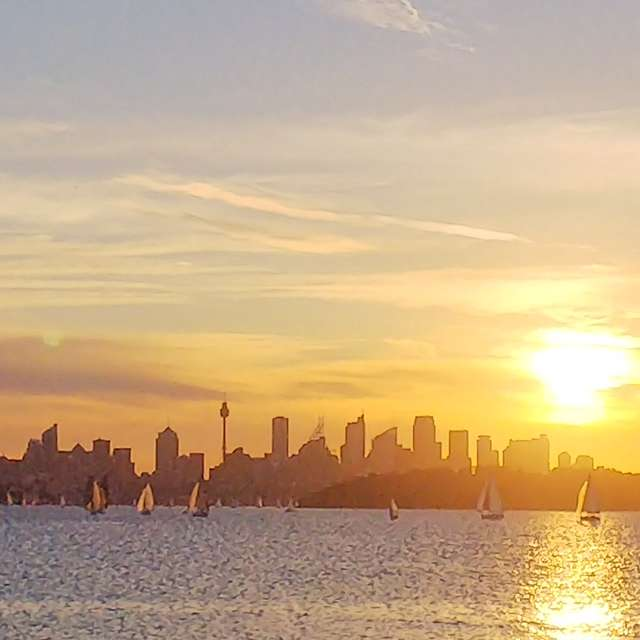 city view from Watsons Bay