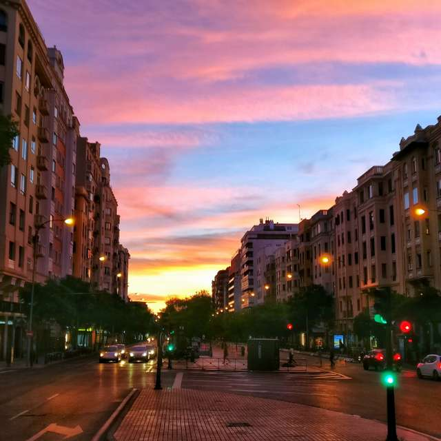 #Madrid #Sunset