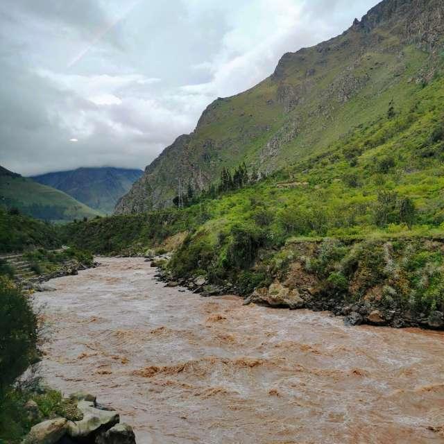 Urubamba River -  Machu Picchu