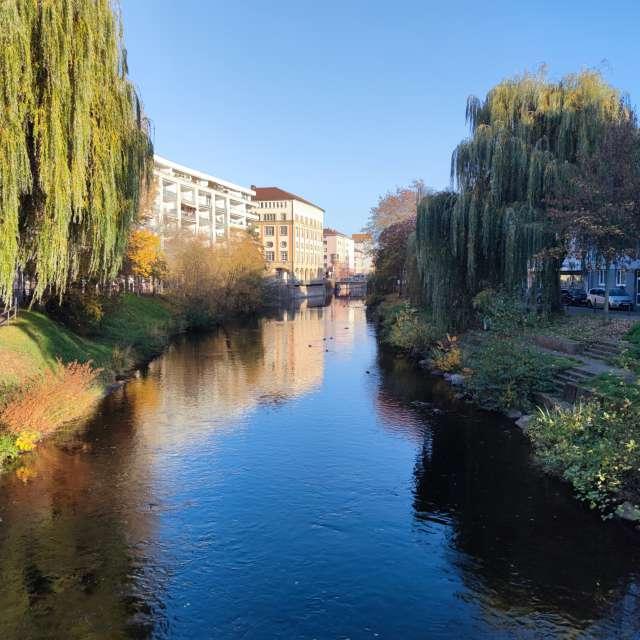 River Enz _ Pforzheim Germany
