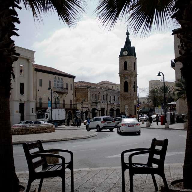 The clock tower, Jaffa