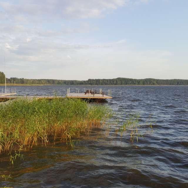 Лиласте кемпинг. Латвия