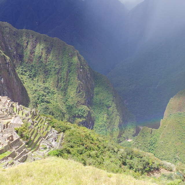 rainbow,Machu Pichu
