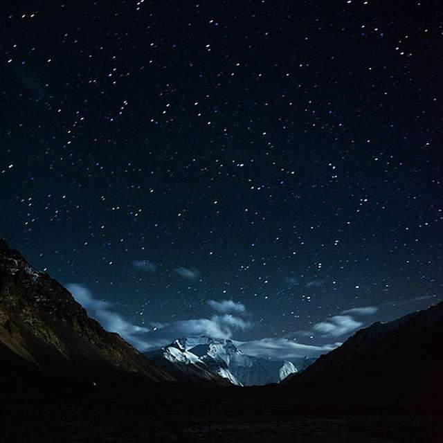 night in Everest Base Camp