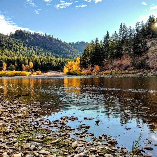 Clark Fork River, Montana USA