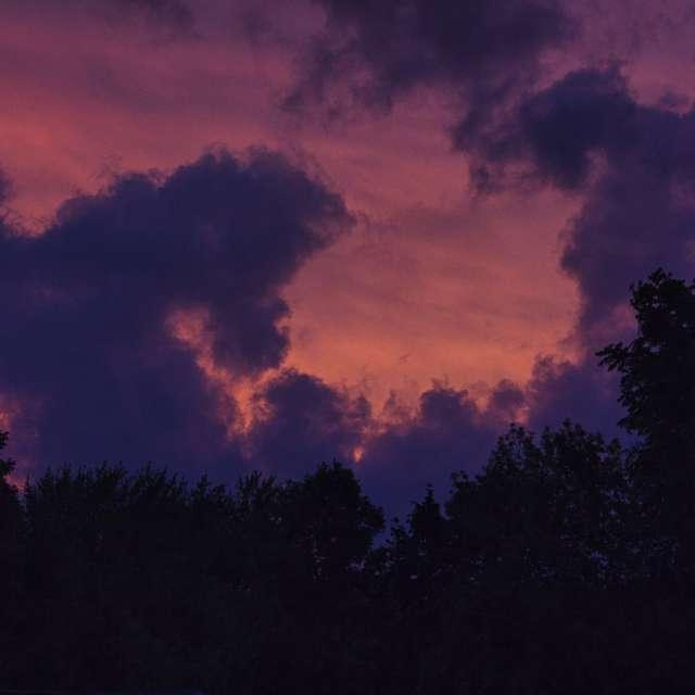 Cloudy sunset 1