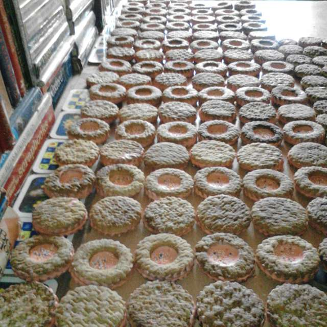 Home made Cookies Field