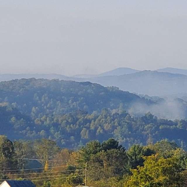 Blue Ridge Mountains.