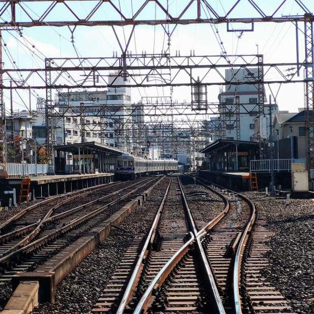 南海鉄道/軌道の切り替えポイント