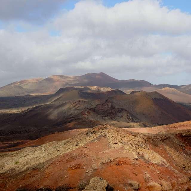 view over vulkano's lanzerote