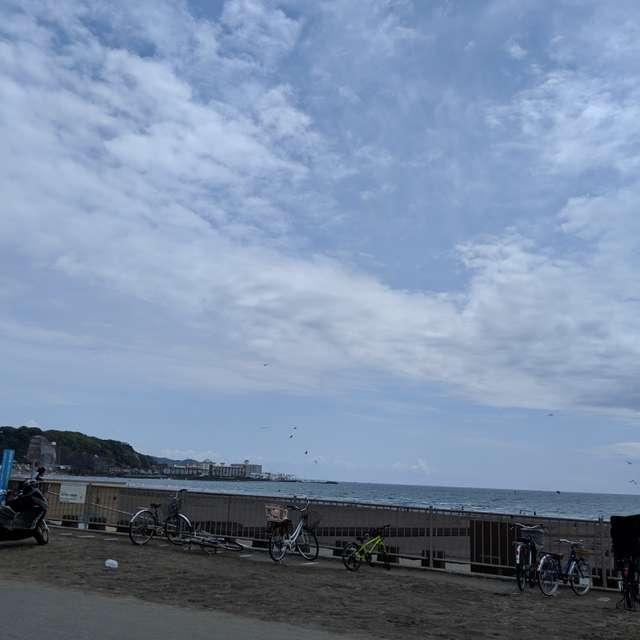 鎌倉の海と空